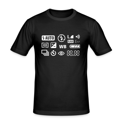 Fotograf - Männer Slim Fit T-Shirt