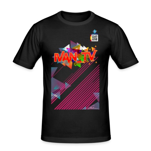 eRa E-Sport | IVAN_TV [SP] - Männer Slim Fit T-Shirt