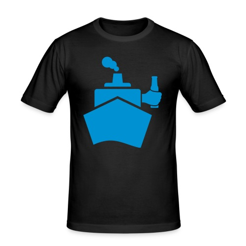 King of the boat - Männer Slim Fit T-Shirt