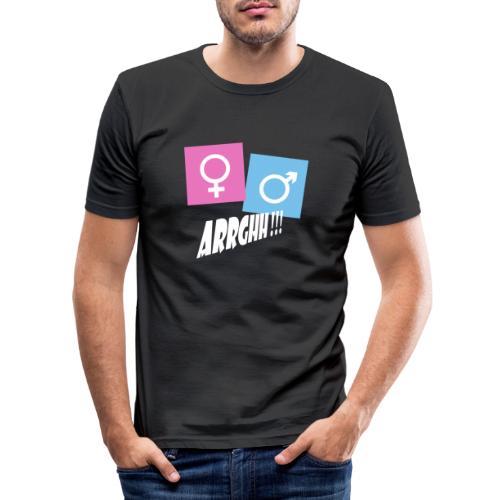 Kønsstereotyper argh - Herre Slim Fit T-Shirt