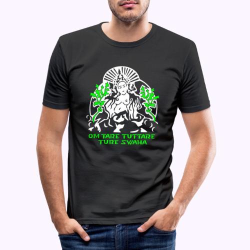 Tara blanca - Camiseta ajustada hombre