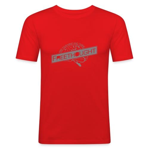 Freethought - Men's Slim Fit T-Shirt