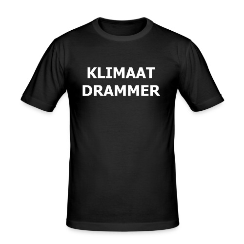 Klimaat Drammer - Men's Slim Fit T-Shirt