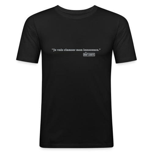 clamser png - T-shirt près du corps Homme