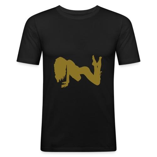 sexy4 - T-shirt près du corps Homme