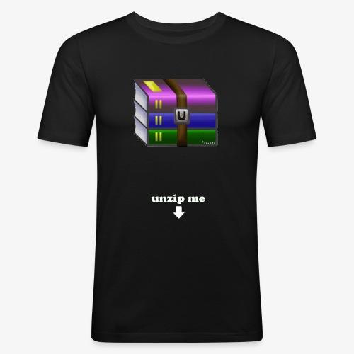 unzip me - T-shirt près du corps Homme