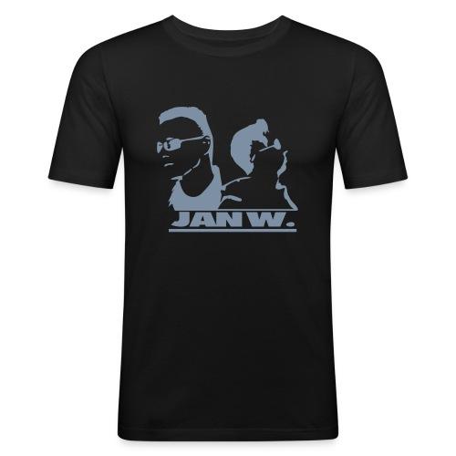 jan records2 - Männer Slim Fit T-Shirt