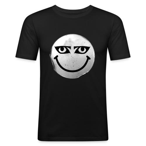 gothday smileylargepng - Men's Slim Fit T-Shirt