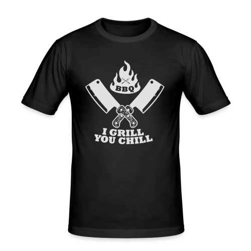 Barbecue grill froid - T-shirt près du corps Homme
