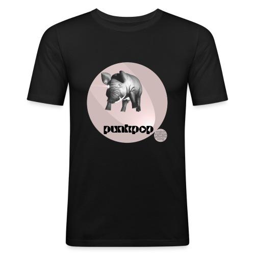 Floyds Pig PunkPop - Maglietta aderente da uomo