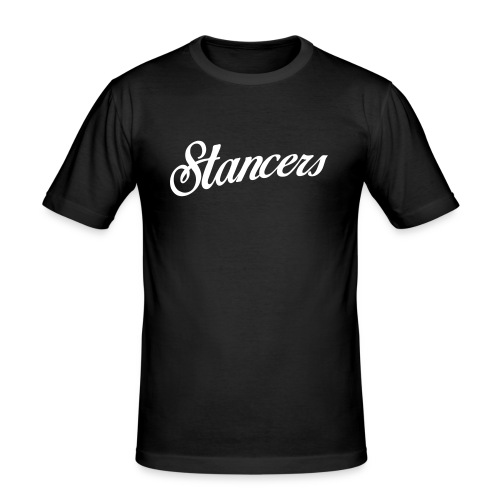 StancerLogo - Men's Slim Fit T-Shirt