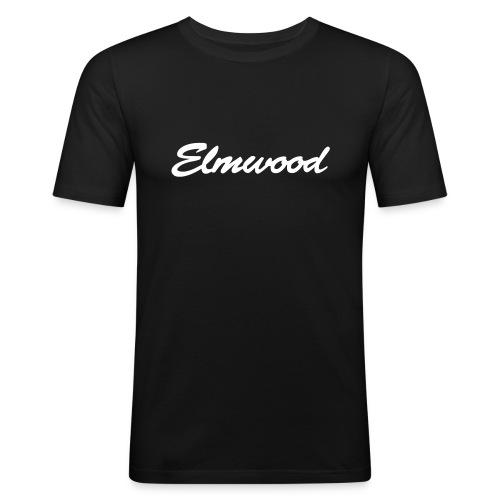 elmwood logo clean - Men's Slim Fit T-Shirt