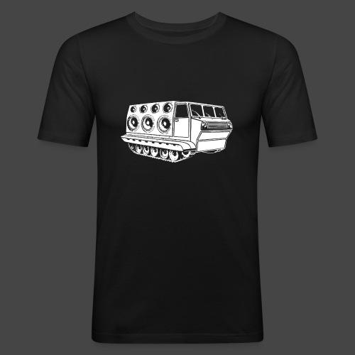 véhicule sonore spirale tekno 23 - T-shirt près du corps Homme