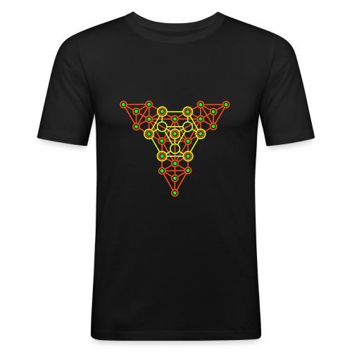 Equiibrium 2-Side Print - Men's Slim Fit T-Shirt
