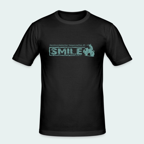 SMILE-Shirt 2018 - Männer Slim Fit T-Shirt