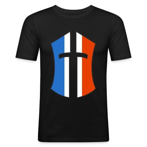 Casque BoN France png - T-shirt près du corps Homme