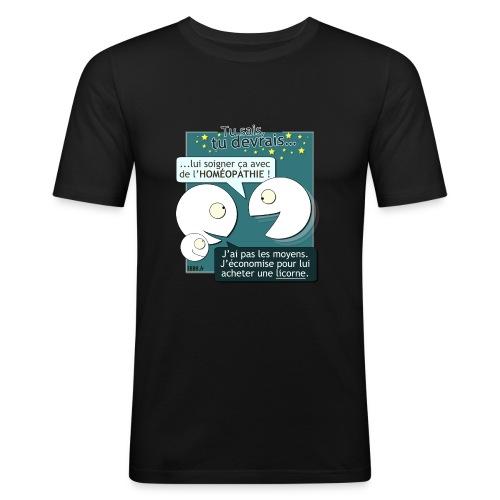 Conseils & homéopathie - T-shirt près du corps Homme