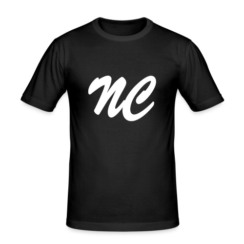 NightcoreCast Black And White - Men's Slim Fit T-Shirt