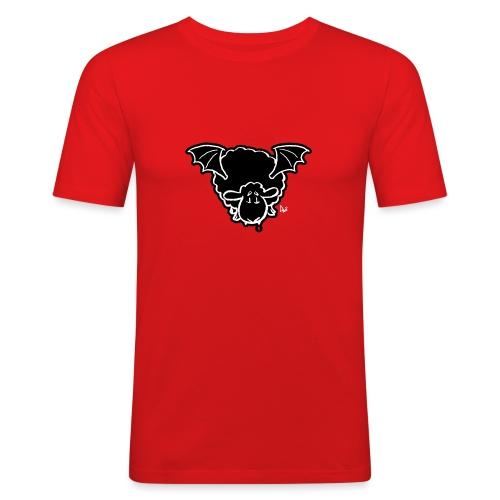 Vampire Sheep (white) - Men's Slim Fit T-Shirt