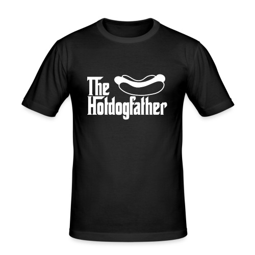 The Hotdogfather - Camiseta ajustada hombre