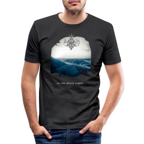 Dislike - As the world Sleeps - 2018 - Men's Slim Fit T-Shirt
