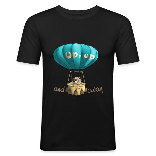 Up up and away - Auf und davon - Männer Slim Fit T-Shirt