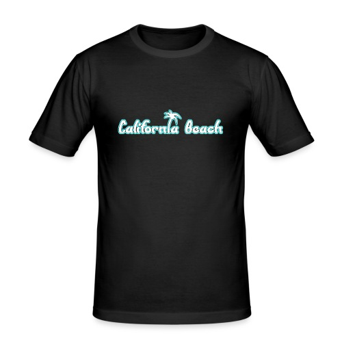 California Beach - Slim Fit T-shirt herr