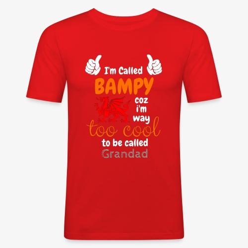 I'm Called BAMPY - Cool Range - Men's Slim Fit T-Shirt