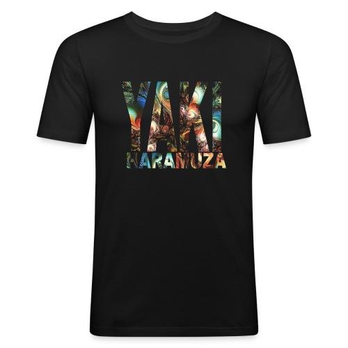 YAKI HARAMUZA BASIC HERR - Slim Fit T-shirt herr
