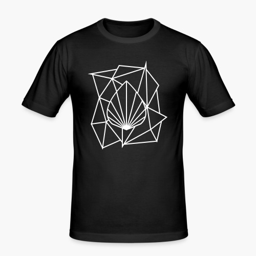 Polygon Augmented Logo - Men's Slim Fit T-Shirt