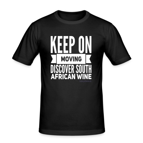 Keep on moving - Männer Slim Fit T-Shirt