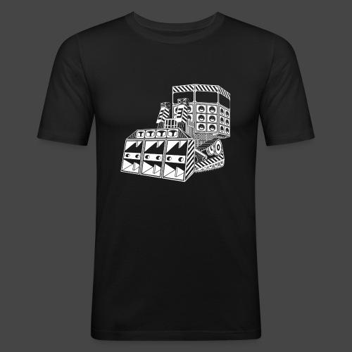bulldozer 23 - T-shirt près du corps Homme