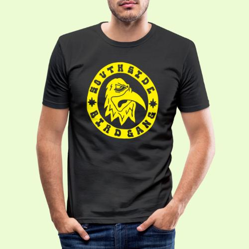 YELLOW EAGLE LOGO - Miesten tyköistuva t-paita