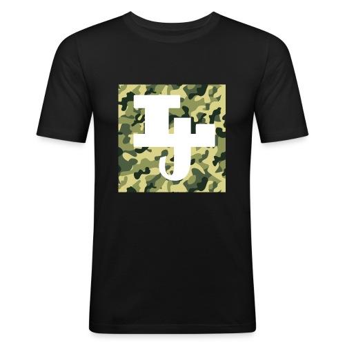 Lil jåkim Merke - Slim Fit T-skjorte for menn