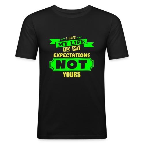 Live My Life - Men's Slim Fit T-Shirt