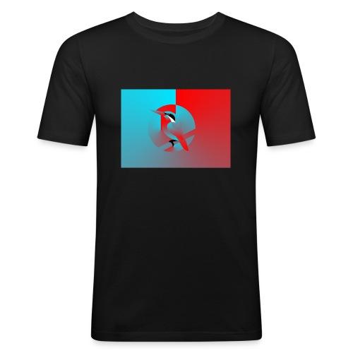 Vogel - Männer Slim Fit T-Shirt