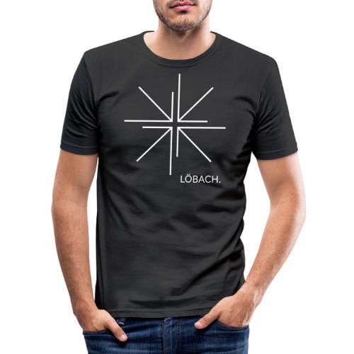 LÖBACH. Original - Männer Slim Fit T-Shirt