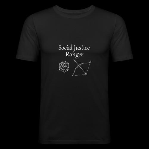 Social Justice Ranger - Men's Slim Fit T-Shirt