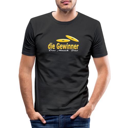 Das Klassische Weiße - Männer Slim Fit T-Shirt