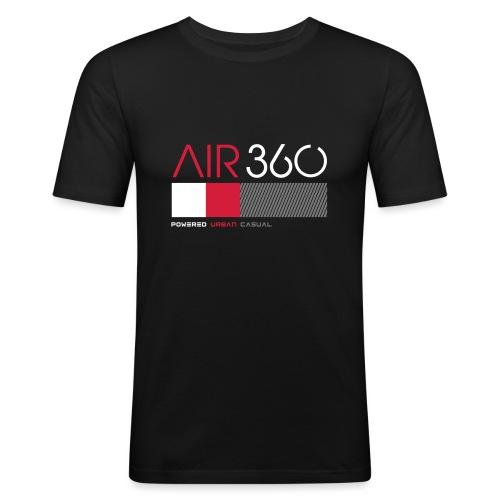 Air360black - Camiseta ajustada hombre