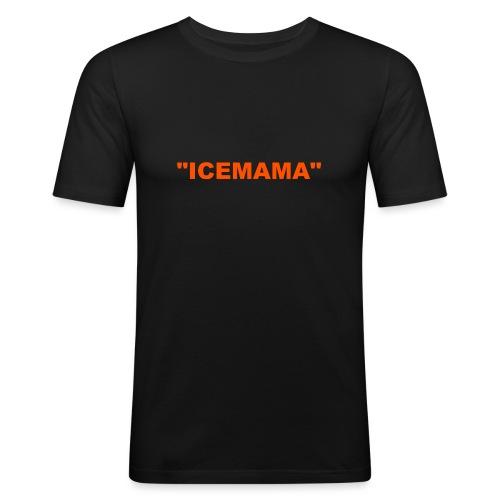 ICEMAMA - Miesten tyköistuva t-paita