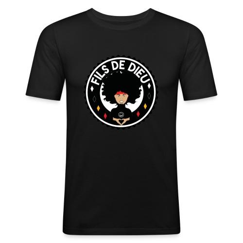 filsdeDieunoir - T-shirt près du corps Homme