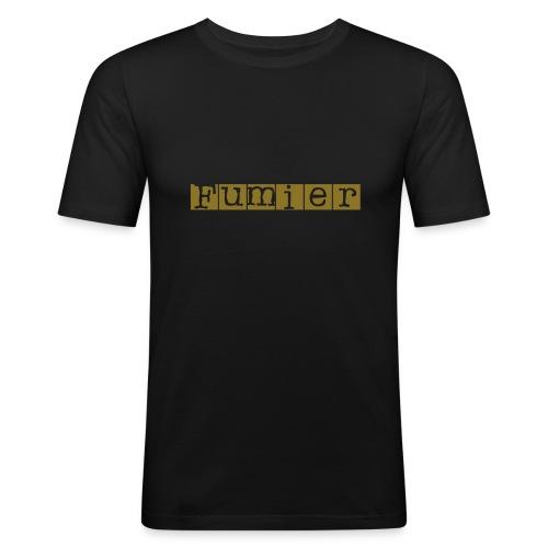 fumier - T-shirt près du corps Homme