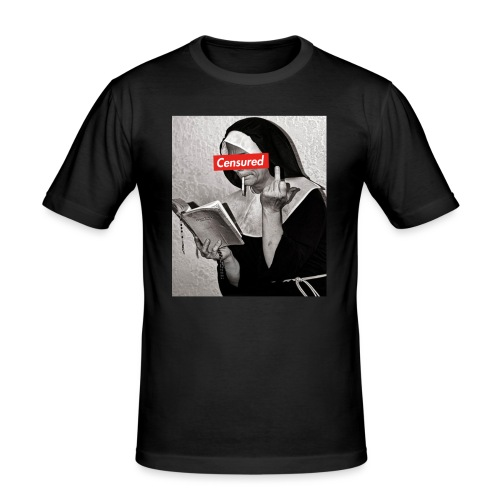ClothingUFO Censuerd - Maglietta aderente da uomo
