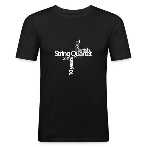 motiv engelsk hvid - Men's Slim Fit T-Shirt