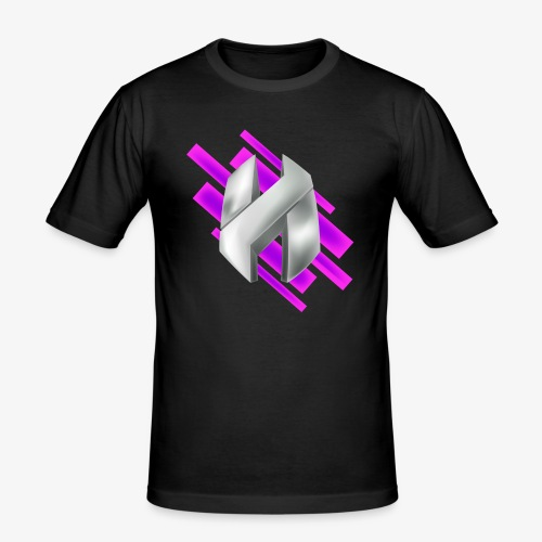 Abstract Purple - Men's Slim Fit T-Shirt