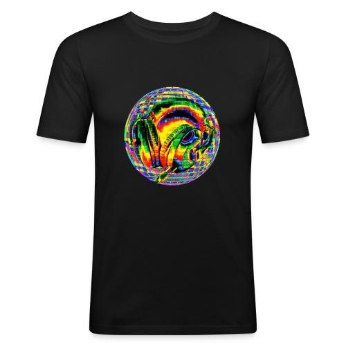 Casque à facettes - T-shirt près du corps Homme