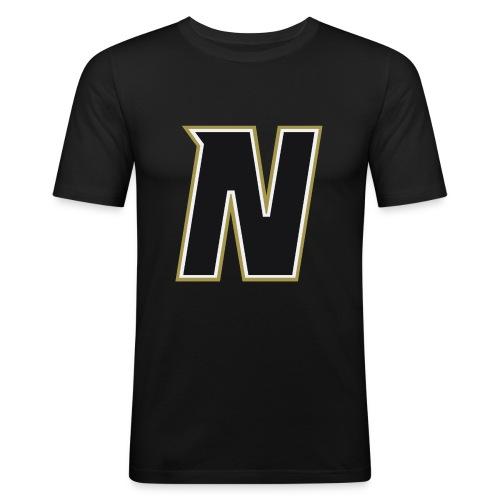Nordic Steel Black N - Men's Slim Fit T-Shirt