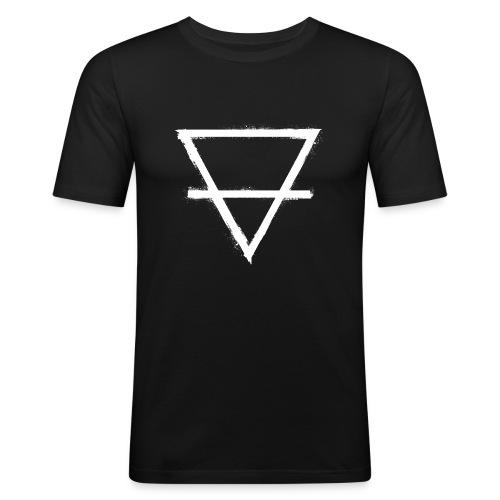 symbol earth 1 - Men's Slim Fit T-Shirt