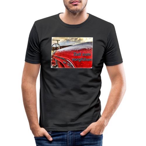Zeit zum vorglühen - Männer Slim Fit T-Shirt